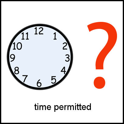 Time Permitted